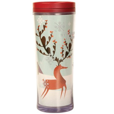 Reindeer on StarbucksTumbler