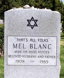 Mel Blank's Tombstone