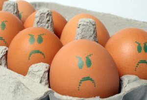 Frowning Eggs