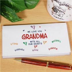 Grandma's Checkbook