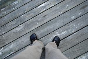 Feet on Porch