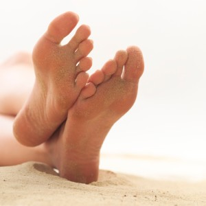 Bare Feet and Sand