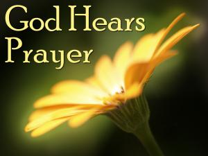 God Hears Prayer