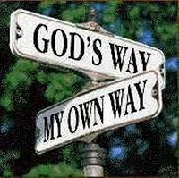 God'sWay-MyOwnWay sign