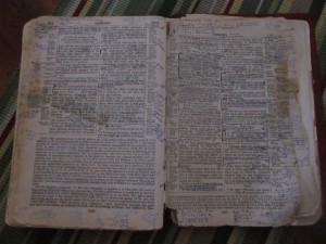 Dawn's Open Bible
