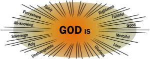 Attributes of God graphic