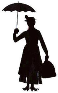Silhouette - Mary Poppins
