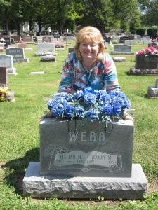 Grandparents' grave