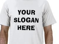 T-shirt - Your Slogan Here