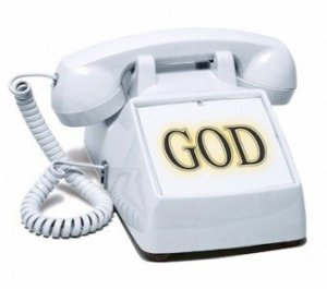 Image result for god on the telephone