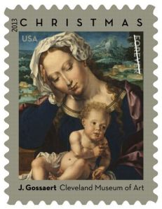 ChristmasMadonnaStamp2013