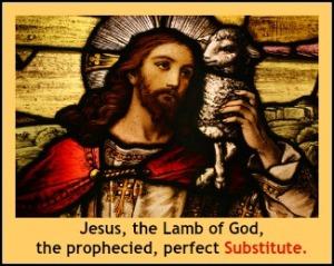JesusTheLambOfGod_OurSubstitute